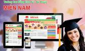 Thiết kế website trường học, cao đẳng, đại học, giáo dục