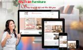 Thiết kế web xây dựng - nội thất - kiến trúc